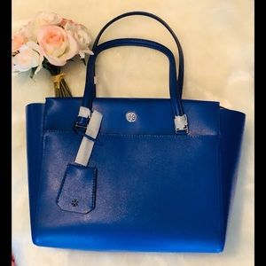 💙NEW! Tory Burch Small Parker Leather Tote 💙